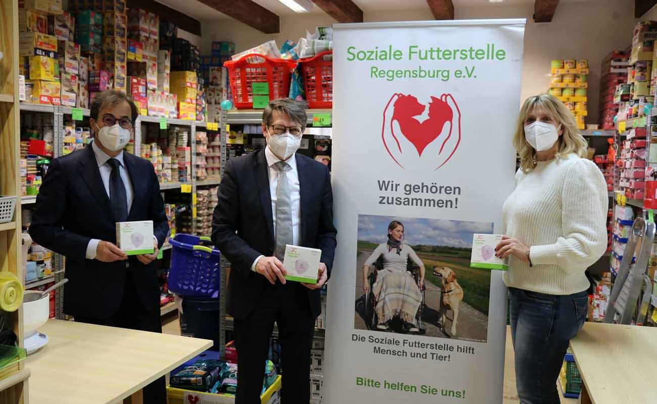 2.000 FFP2-Masken an soziale Einrichtungen